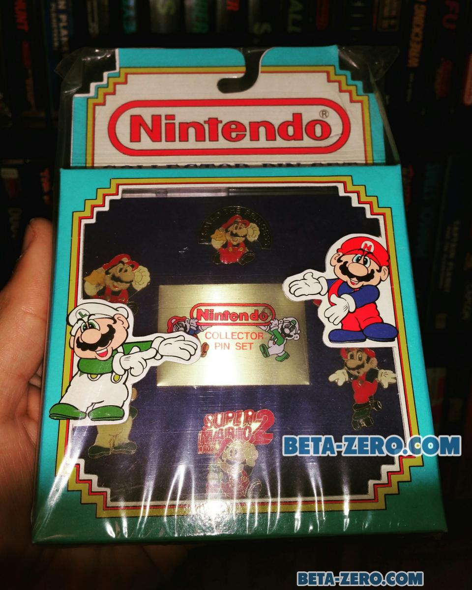 Nintendo Collector Pin Set.