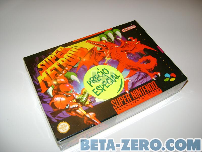 Super Metroid - Nuevo precintado PAL-ESP 2ª edición