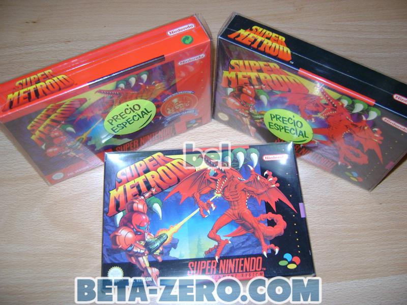 Super Metroid - Super Nintendo PAL-ESP