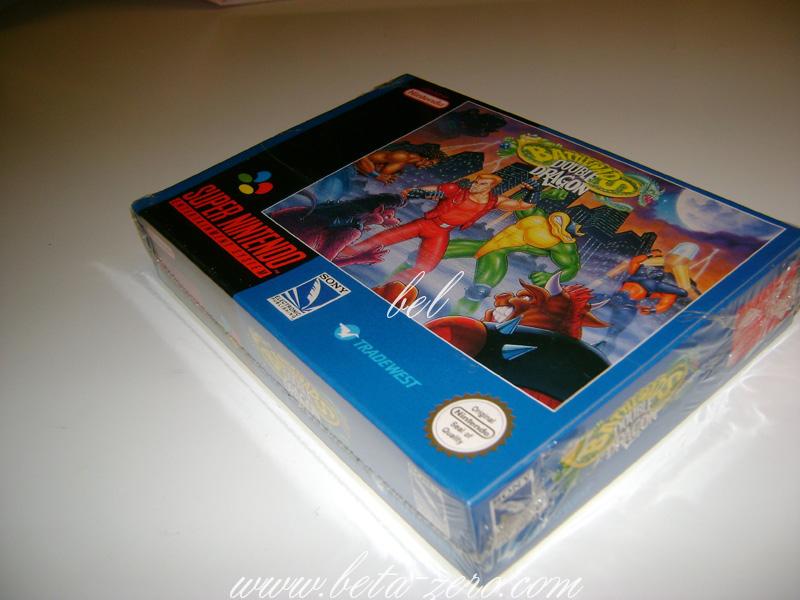 Battletoads Vs Double Dragon Super Nintendo PAL