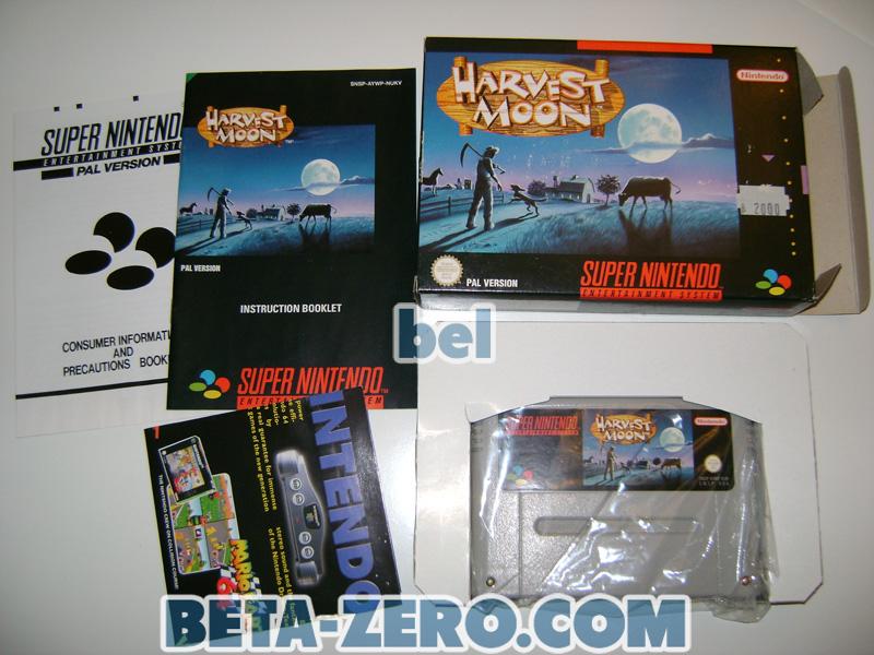 Harvest Moon - SNES PAL-UK