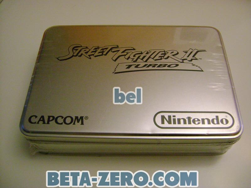 Street Fighter II Turbo Tin Limited Edition - SNES Precintado
