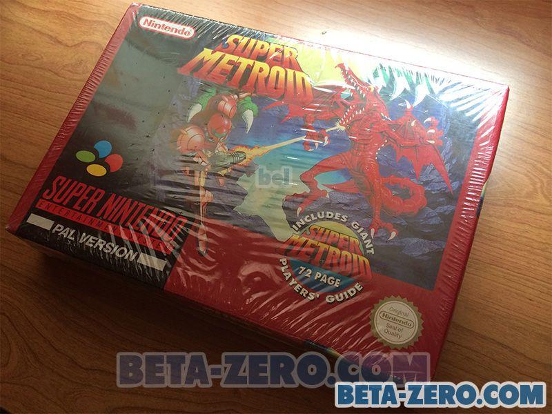 Super Metroid - SNES (PAL-UK)