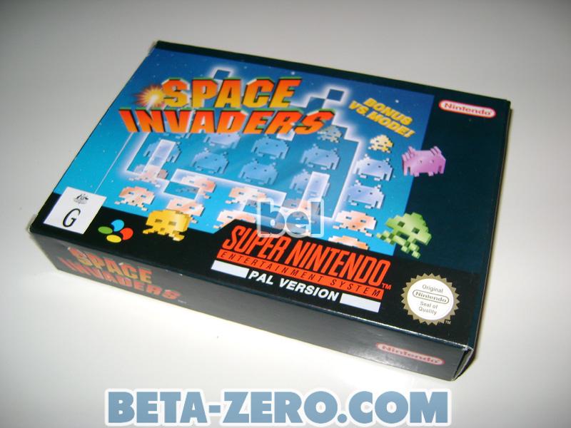 Space Invaders - SNES PAL