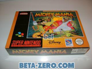 Mickey Mania - PAL-EUR precintado