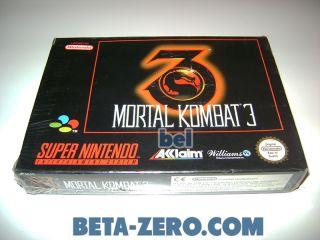 Mortal Kombat 3 - PAL-EUR precintado