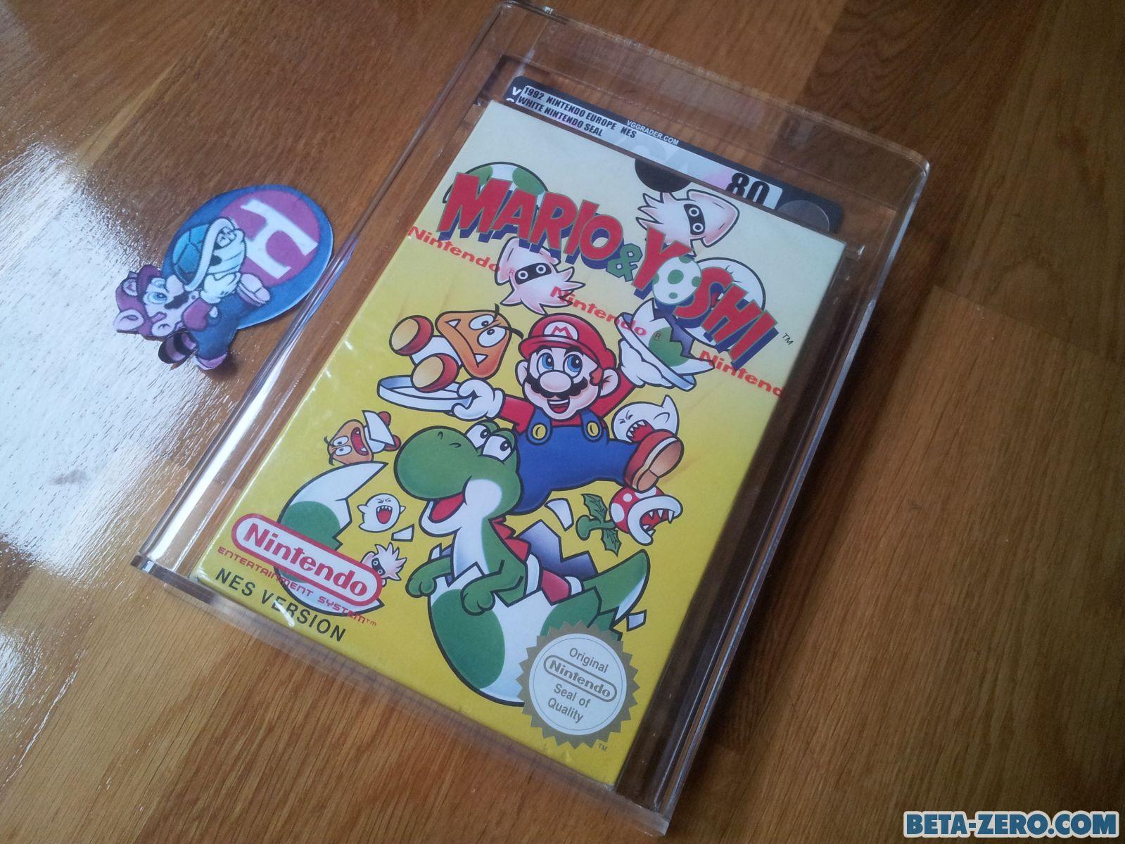 Mario & Yoshi precintado.