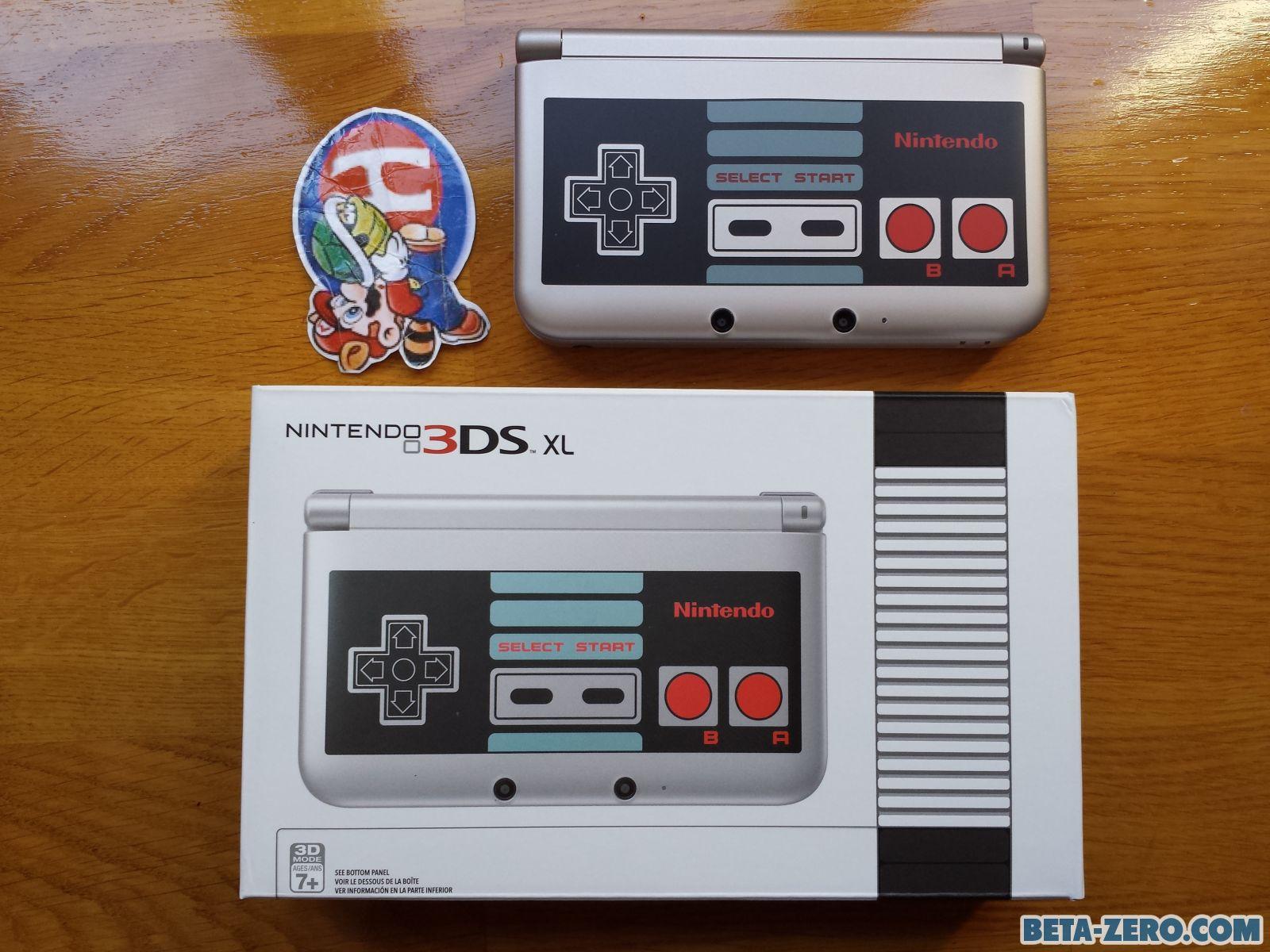 3DS XL Nes Edition.
