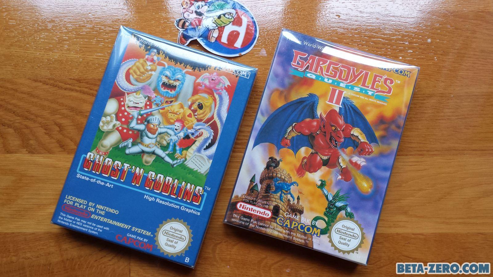 Ghost 'N Goblins & Gargoyle's Quest II