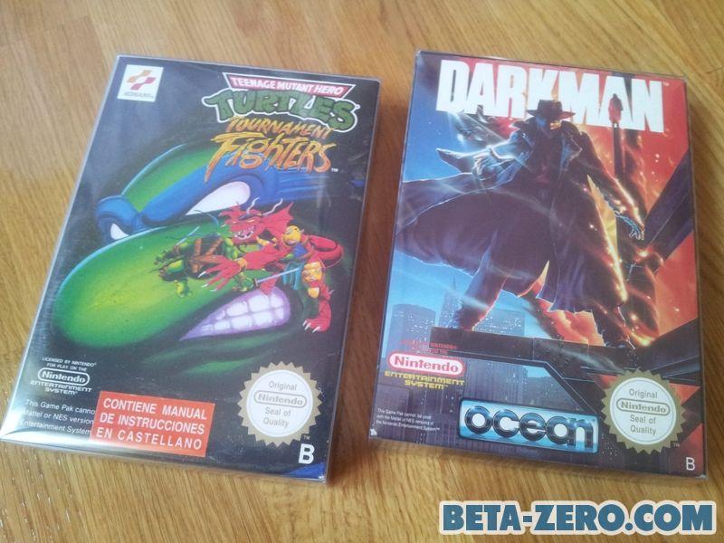 Tournament Fighters & Darkman.