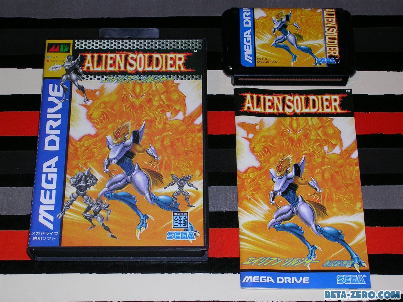 Alien Soldier para Mega Drive