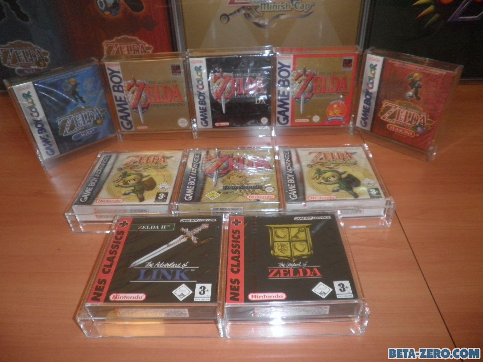 ZELDA, Colección Gameboy.