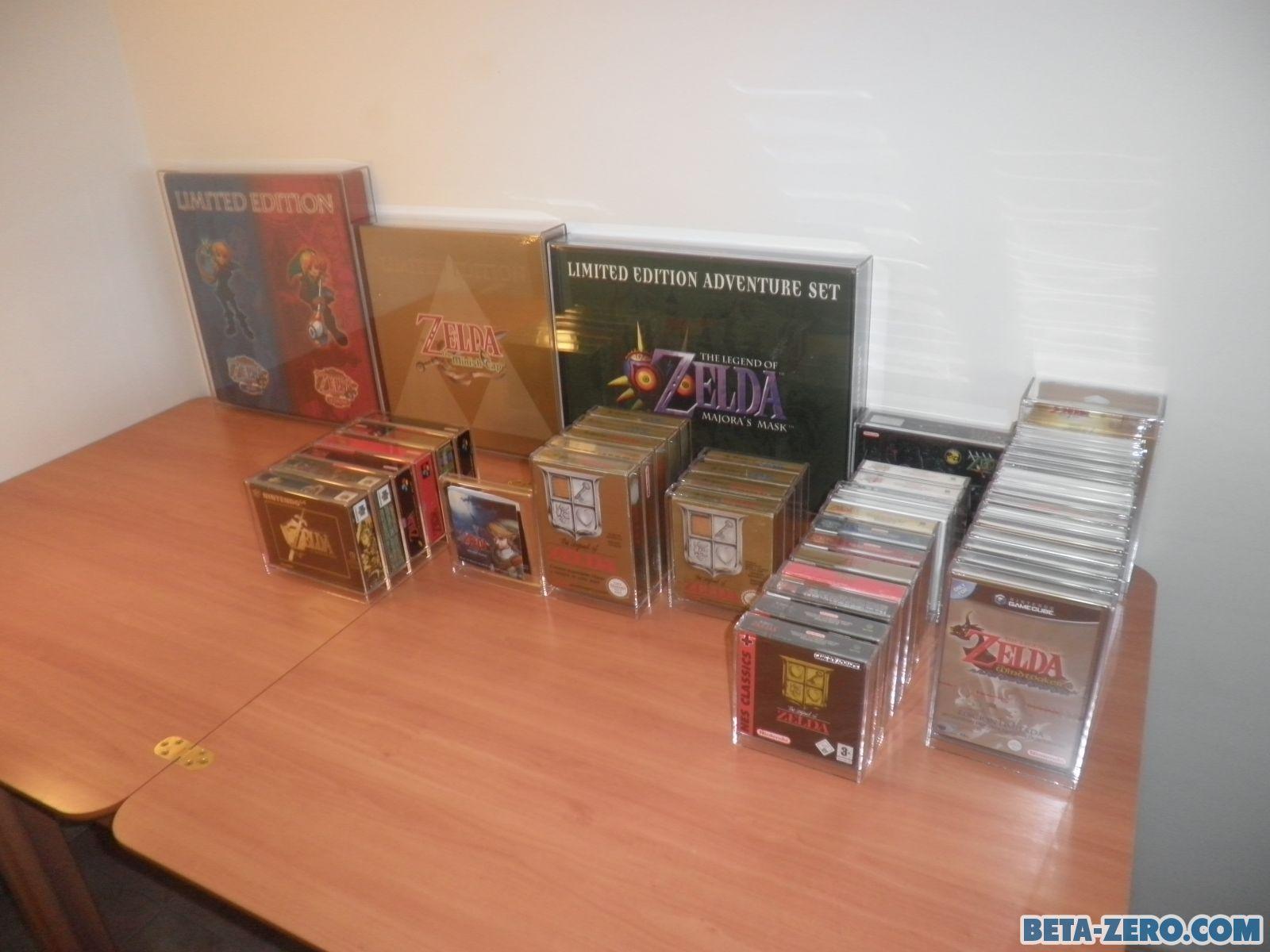 Zelda acrilic case collection.