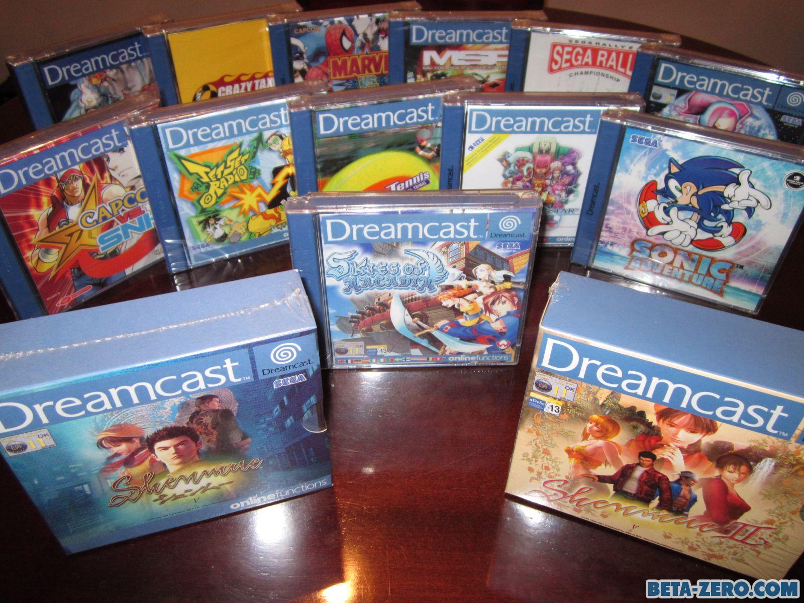 Selección de juegos PAL de Dreamcast