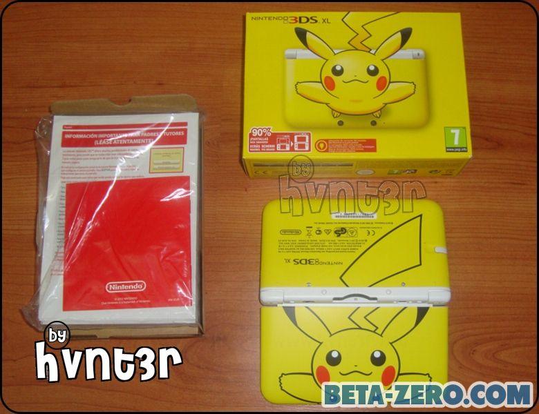 3DSXL Pikachu Limited Edition