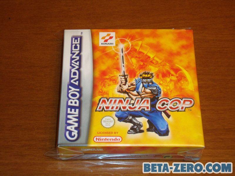 Ninja Cop PAL