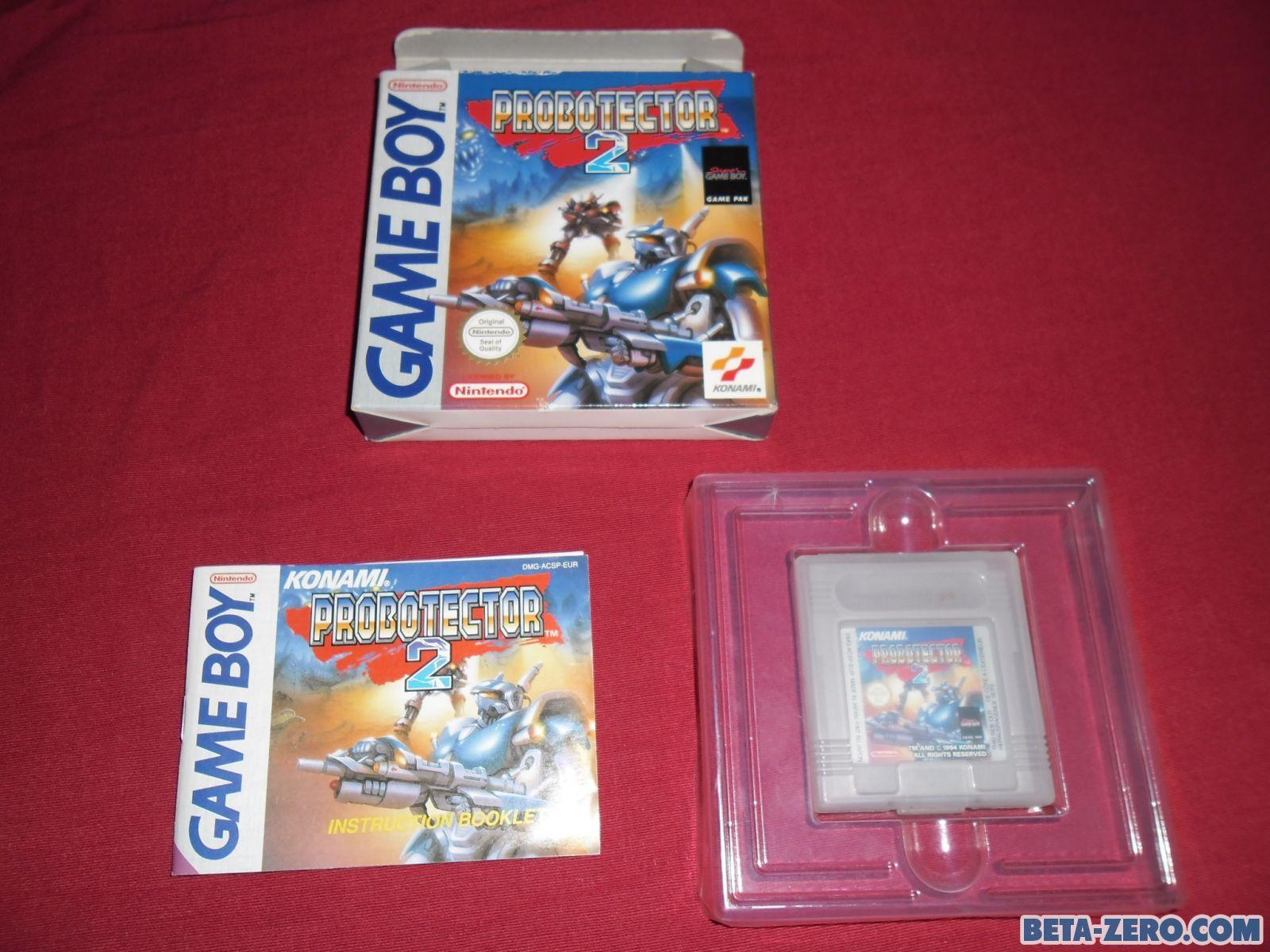 Probotector 2 Pal Multi para Game Boy.