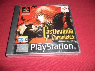 Castlevania Chronicles precintado para PSX