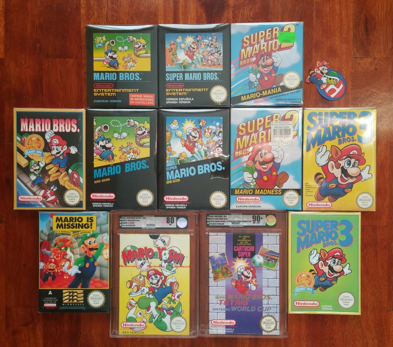 Pequeño homenaje a Mario bros.