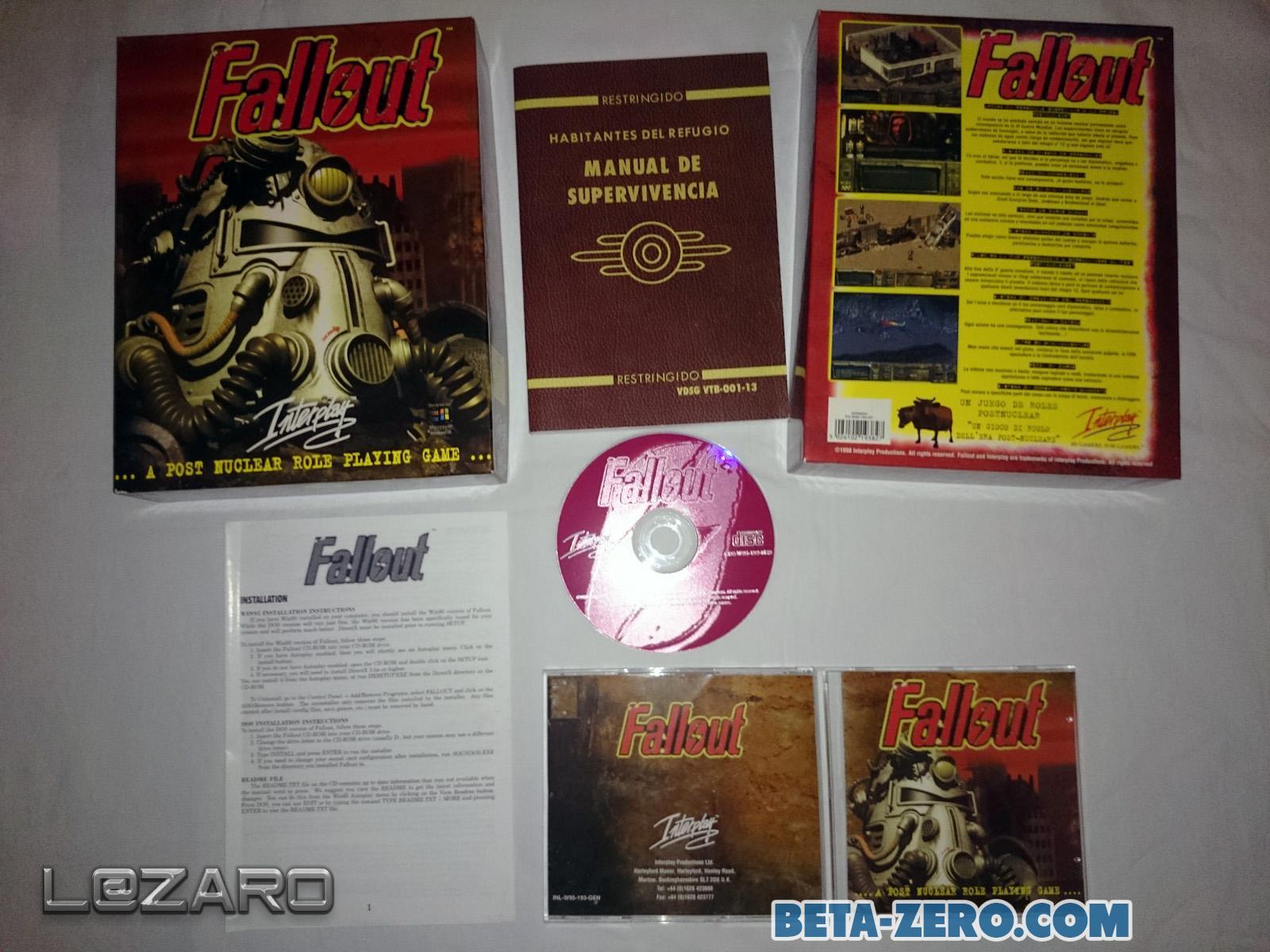 Fallout 1 - 1ª Edición Española/Italiana
