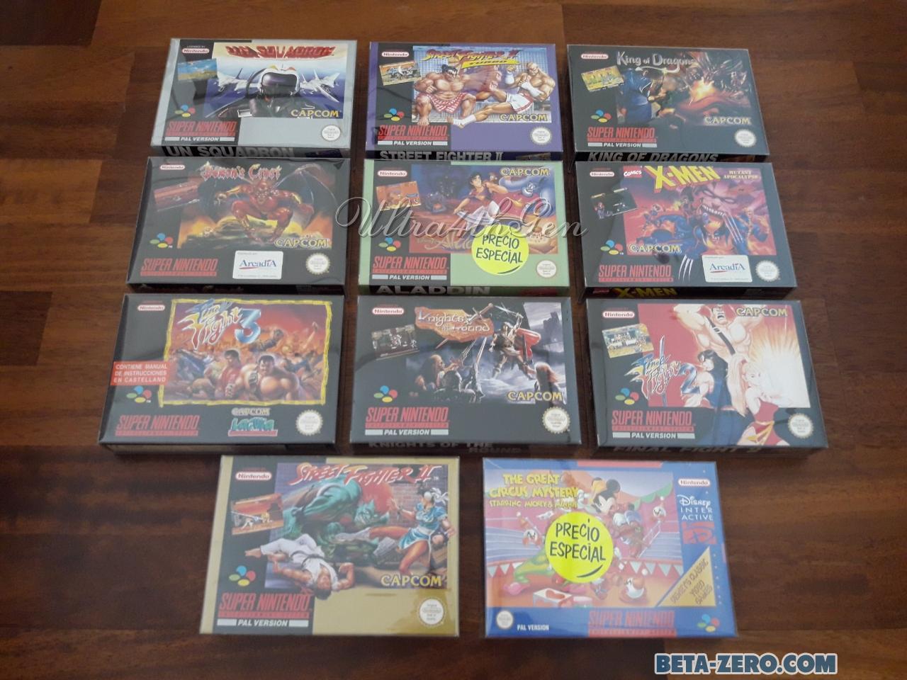 Familia española de Capcom
