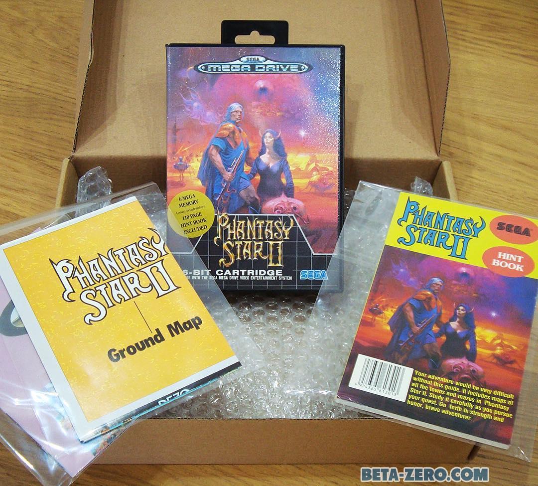 Phantasy Star II + Hint Book